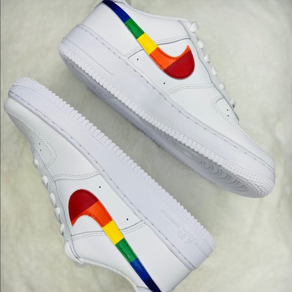 Nike Shoes | Custom Air Force Pride